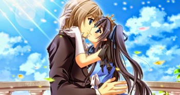hình nền anime kiss tình yêu
