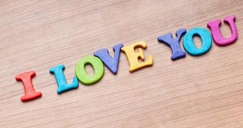 xem ảnh chữ i love you tuyệt đẹp
