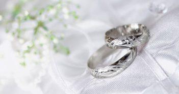 Hình ảnh nhẫn cưới đẹp long lanh