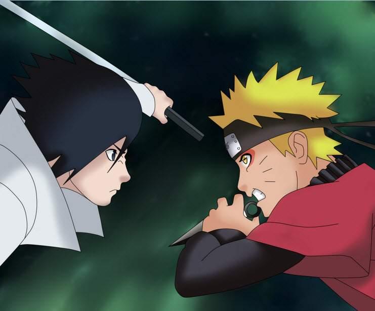 20 hình ảnh Naruto vs Sasuke đẹp sắc nét full HD