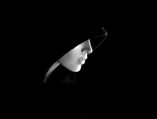 15 avatar màu đen, hình avatar màu đen của sự im lặng
