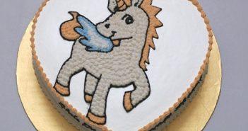 ảnh bánh sinh nhật hình con ngựa