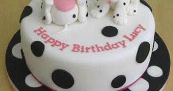 Hình ảnh bánh sinh nhật con chó