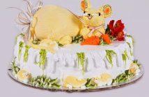 Hình ảnh bánh sinh nhật con chuột