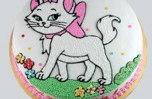 Ảnh bánh sinh nhật hình con mèo
