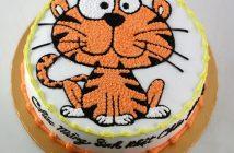 ảnh bánh sinh nhật con hổ