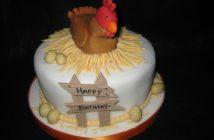 Hình ảnh bánh sinh nhật con gà