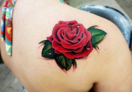 80 hình xăm hoa hồng đẹp và ý nghĩa của hình xăm bông hồng