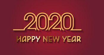 Ảnh bìa năm mới 2020 đẹp nhất
