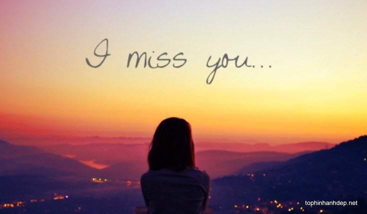 hình ảnh buồn nhớ người yêu