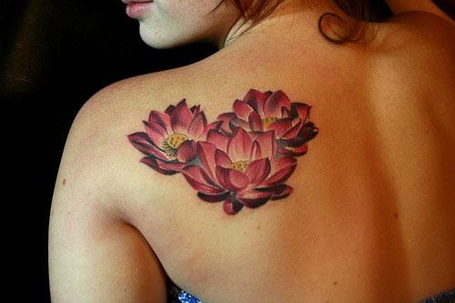 38 hình xăm hoa sen đẹp nhất và ý nghĩa của tattoo hoa sen