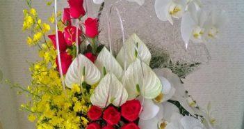 bó hoa đẹp tặng sếp