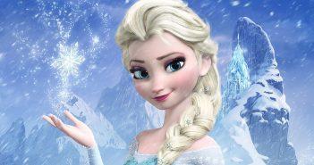 Hình nền công chúa elsa dễ thương kute