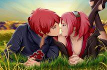 hình nền anime lãng mạn