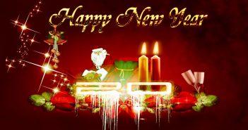 Hình nền chúc mừng năm mới 2018 đẹp