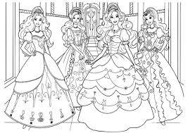 Tranh Tô Màu Công Chúa Disney